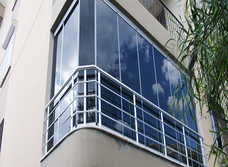 GLASS BALCONY PROFILES