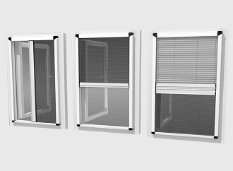 FLY SCREEN Ve PLEATED FLY SCREEN PROFILES